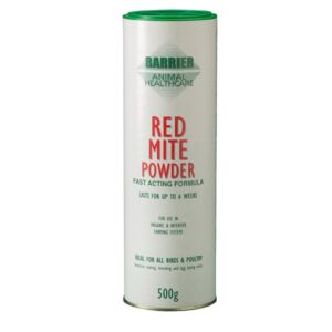 poultry barrier red mite powder
