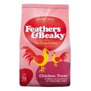 poultry feathers and beaky